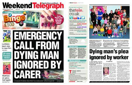 Evening Telegraph First Edition – January 27, 2018