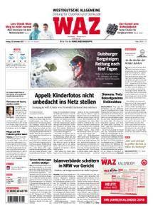 WAZ Westdeutsche Allgemeine Zeitung Oberhausen-Sterkrade - 10. November 2017