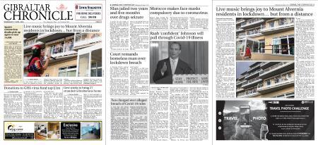 Gibraltar Chronicle – 08 April 2020