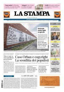 La Stampa Torino Provincia e Canavese - 13 Settembre 2018