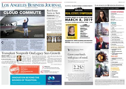 Los Angeles Business Journal – February 18, 2019