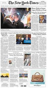 The New York Times  January 01 2017