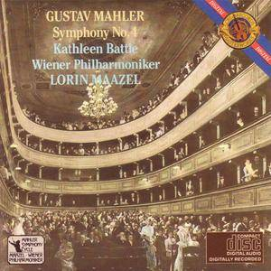 Wiener Philharmoniker - Mahler: Symphony No. 4 (1984) {CBS Masterworks} **[RE-UP]**