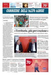 Corriere dell'Alto Adige - 11 Gennaio 2018