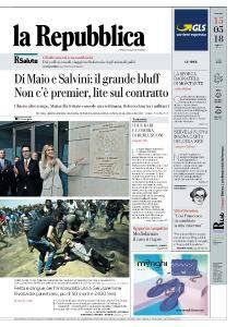 la Repubblica - 15 Maggio 2018
