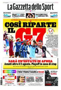 La Gazzetta dello Sport Bergamo – 21 maggio 2020