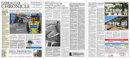 Gibraltar Chronicle – 23 July 2021