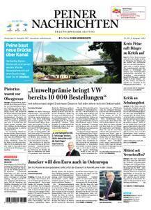 Peiner Nachrichten - 14. September 2017