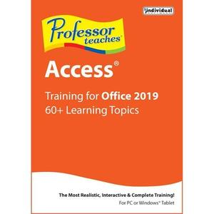 Individual Software Professor Teaches Access 2019 v1.0