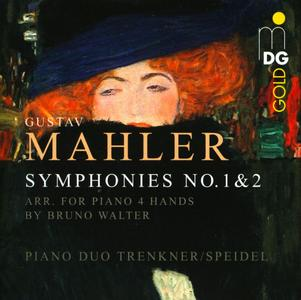 Evelinde Trenkner, Sontraud Speidel - Gustav Mahler: Symphonies Nos. 1 & 2 Arranged for Piano 4 Hands by Bruno Walter (2013)