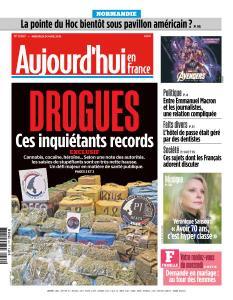 Aujourd'hui en France du Mercredi 24 Avril 2019
