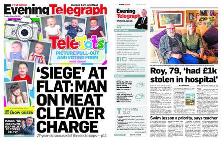 Evening Telegraph First Edition – October 30, 2018