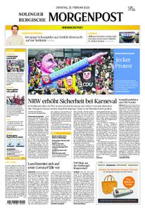 Solinger Morgenpost – 25. Februar 2020