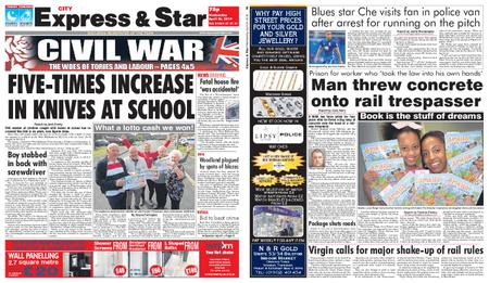 Express and Star City Edition – April 24, 2019