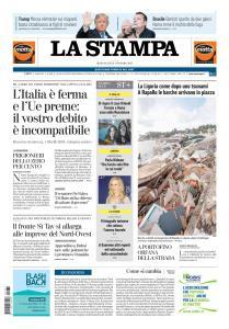 La Stampa Imperia e Sanremo - 31 Ottobre 2018