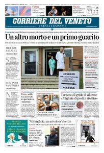Corriere del Veneto Vicenza e Bassano – 26 febbraio 2020