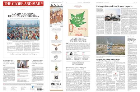 The Globe and Mail – September 18, 2020