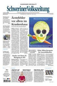 Schweriner Volkszeitung Hagenower Kreisblatt - 05. April 2018