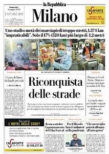 la Repubblica Milano - 3 Maggio 2020