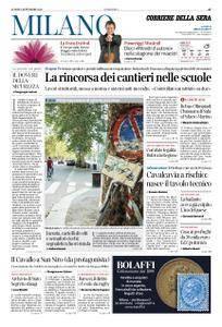 Corriere della Sera Milano – 03 settembre 2018