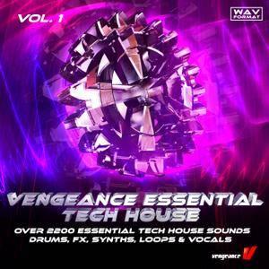 Vengeance Essential Tech House Vol 1 WAV