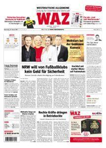 WAZ Westdeutsche Allgemeine Zeitung Oberhausen-Sterkrade - 22. Februar 2018
