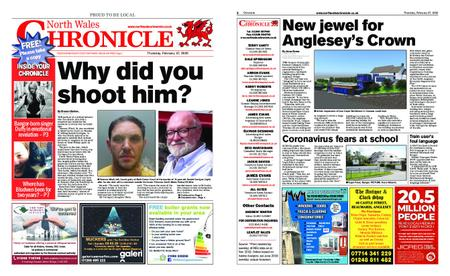 North Wales Chronicle – February 27, 2020