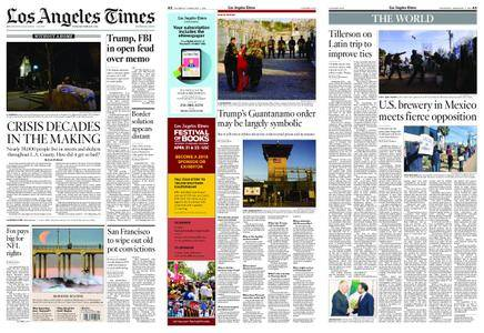 Los Angeles Times – February 01, 2018