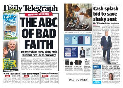 The Daily Telegraph (Sydney) – August 30, 2018