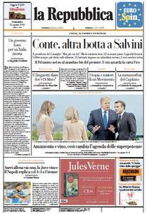 la Repubblica - 25 Agosto 2019