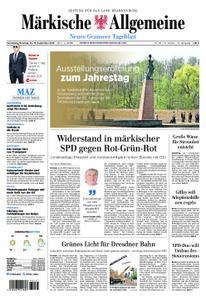 Märkische Allgemeine Neues Granseer Tageblatt - 14. September 2019