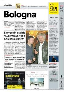 la Repubblica Bologna - 21 Febbraio 2019