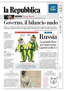 la Repubblica - 6 Aprile 2019