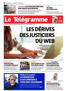 Le Télégramme Saint Malo – 22 septembre 2020