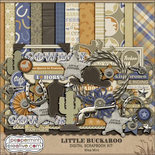 Scrap Kit: Little Buckaroo