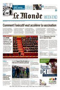 Le Monde du Samedi 6 Mars 2021