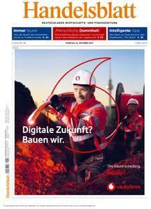 Handelsblatt - 16. Oktober 2017
