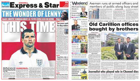 Express and Star Sandwell Edition – July 07, 2018