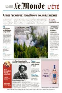 Le Monde du Dimanche 4 et Lundi 5 Août 2019