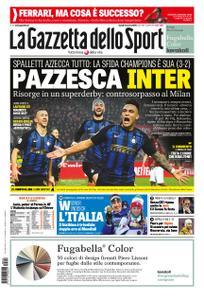 La Gazzetta dello Sport Roma – 18 marzo 2019