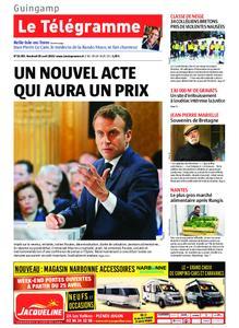 Le Télégramme Guingamp – 26 avril 2019