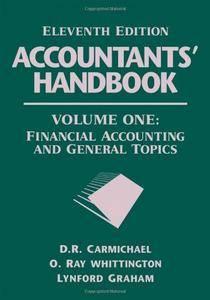 Accountants' Handbook, Volume 1: Financial Accounting and General Topics (Repost)