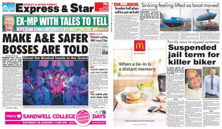 Express and Star Dudley and Wyre Forest Edition – January 12, 2019