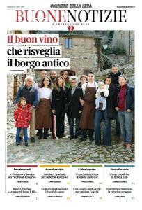 Corriere della Sera Buone Notizie - 10 Aprile 2018