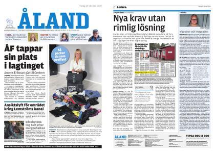 Ålandstidningen – 29 oktober 2019