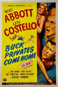 Abbott and Costello - Buck Privates Come Home (1947)