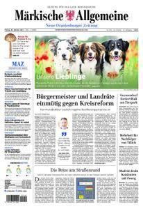 Neue Oranienburger Zeitung - 20. Oktober 2017