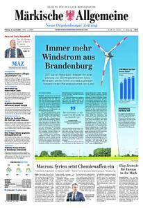 Neue Oranienburger Zeitung - 13. April 2018
