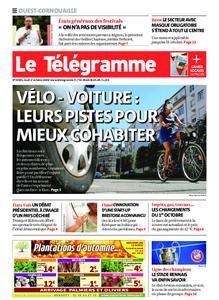 Le Télégramme Ouest Cornouaille – 01 octobre 2020