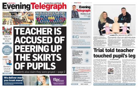 Evening Telegraph First Edition – September 20, 2019